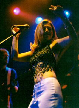 sarah live in the US @ Bowery Ballroom; 23/5/99